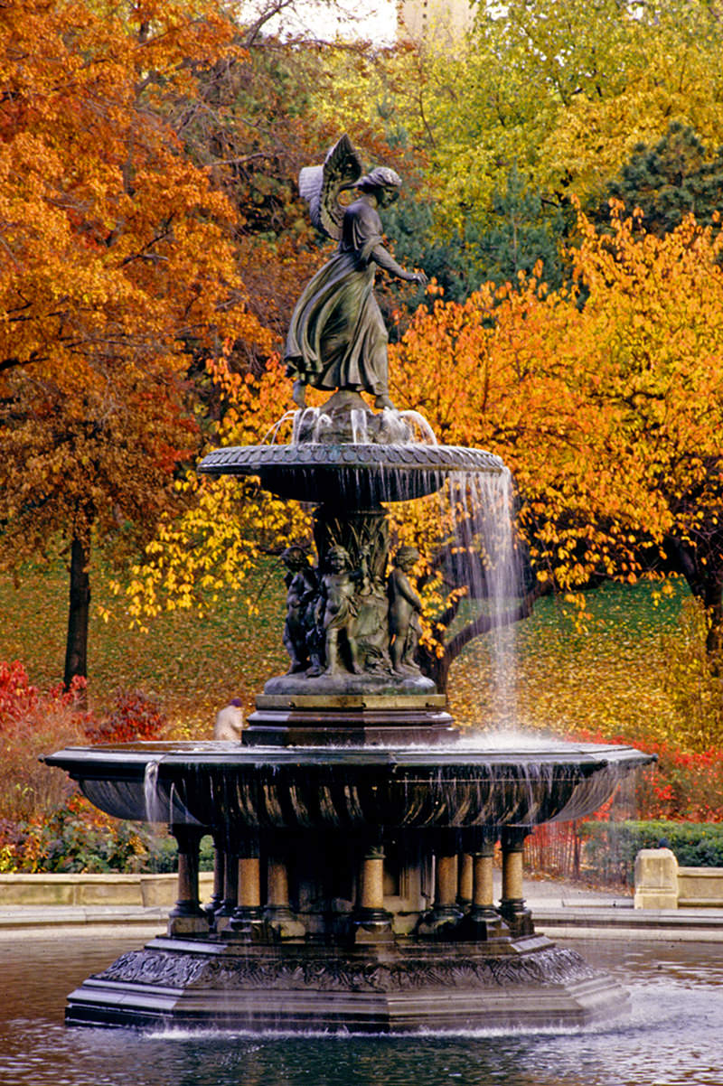 Fig. 2 Emma Stebbins, Angel of the Waters, Bethesda Terrace, Central Park, 1861-1868