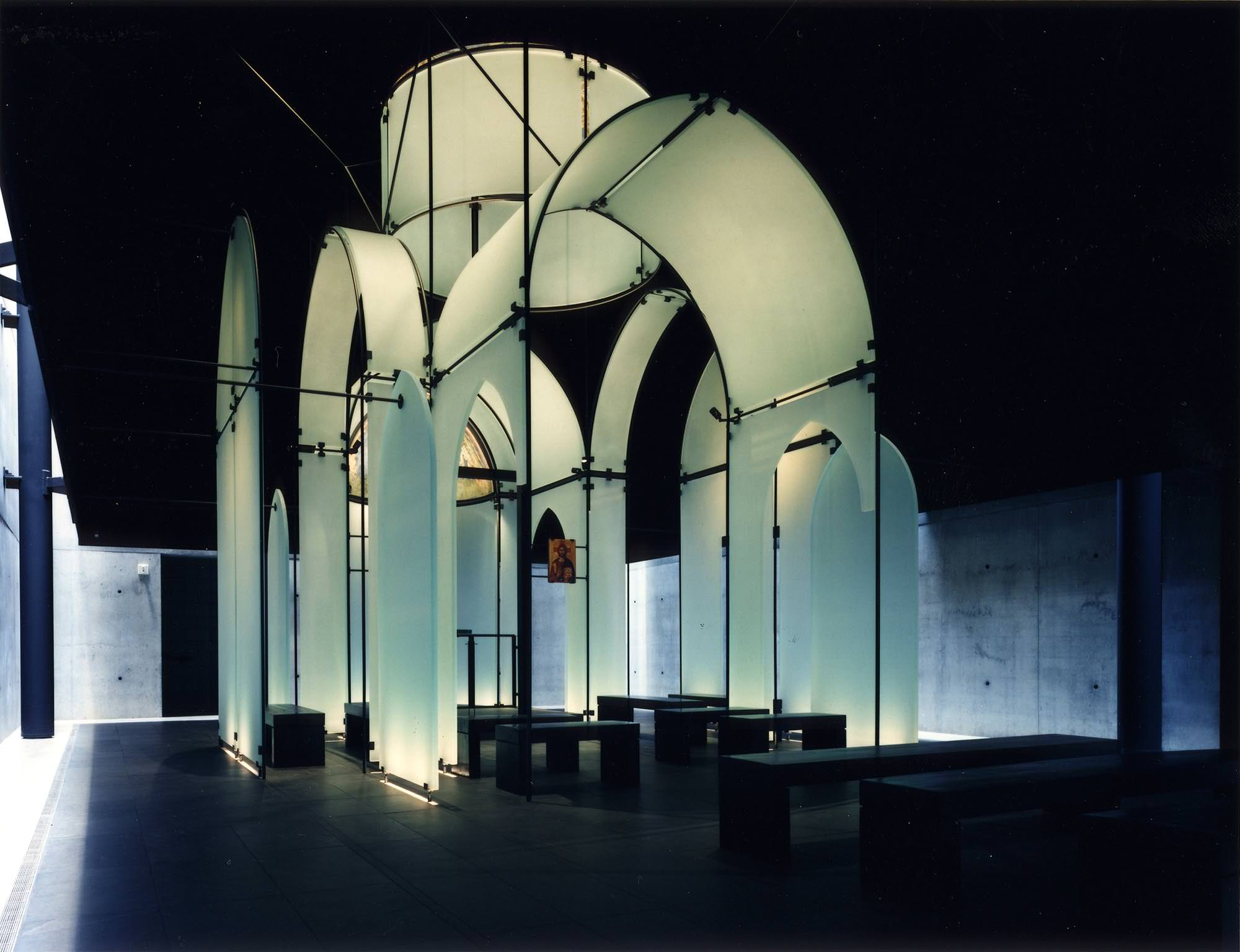 Francois de Menil, Byzantine Fresco Chapel, Houston, Texas. Photo courtesy of and copyright Paul Warchol Photography.