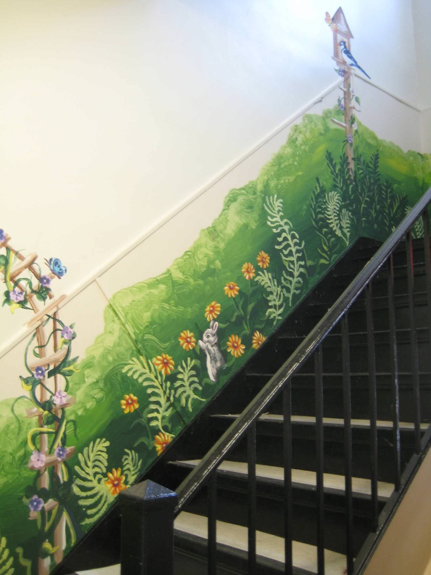 Julie Dickerson, Mural at Womanspace women's shelter, 2010