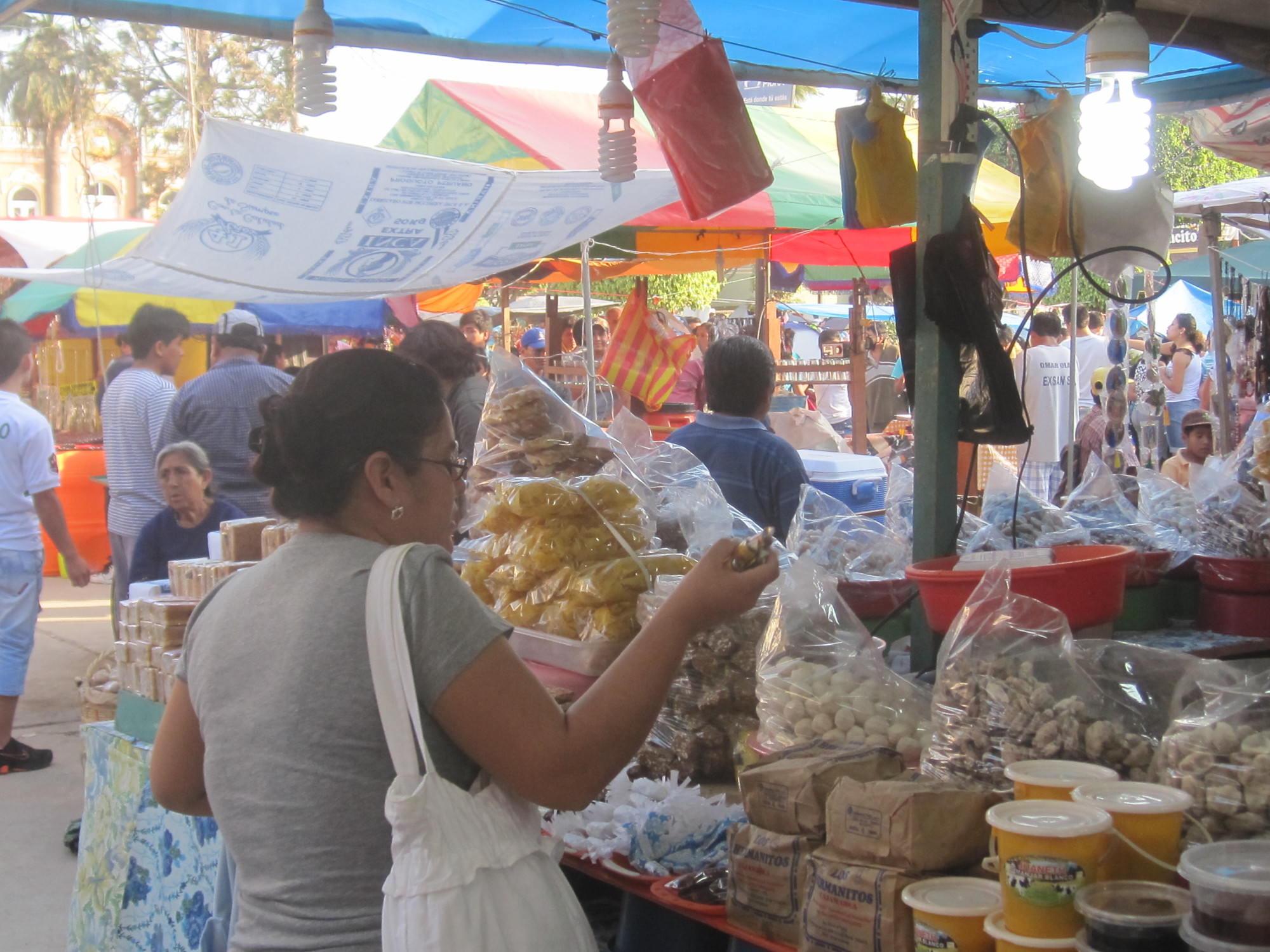 Festival fair in Motupe