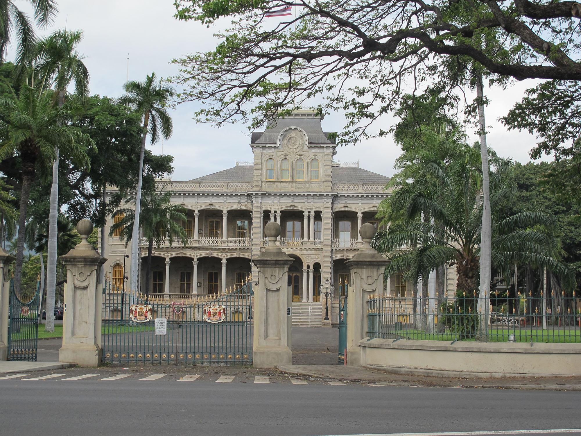 Fig. 12 ʻIolani Palace, Oʻahu, May 2011. Photo: ©Sally Promey