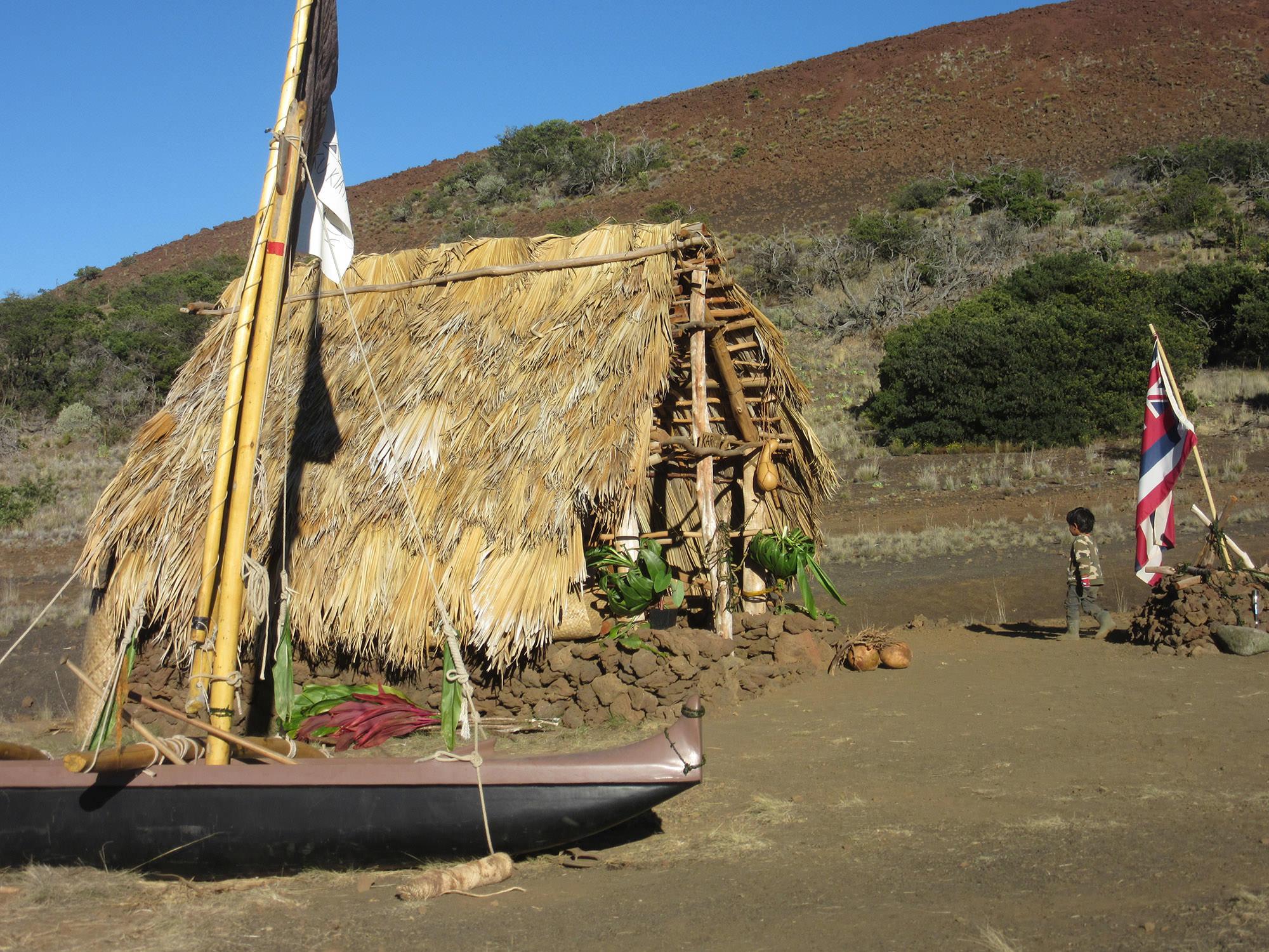 Fig. 26 Kū Hale on Mauna Kea (Mauna a Wākea), Hawai'i Island, June 2015. Photo: ©Greg Johnson