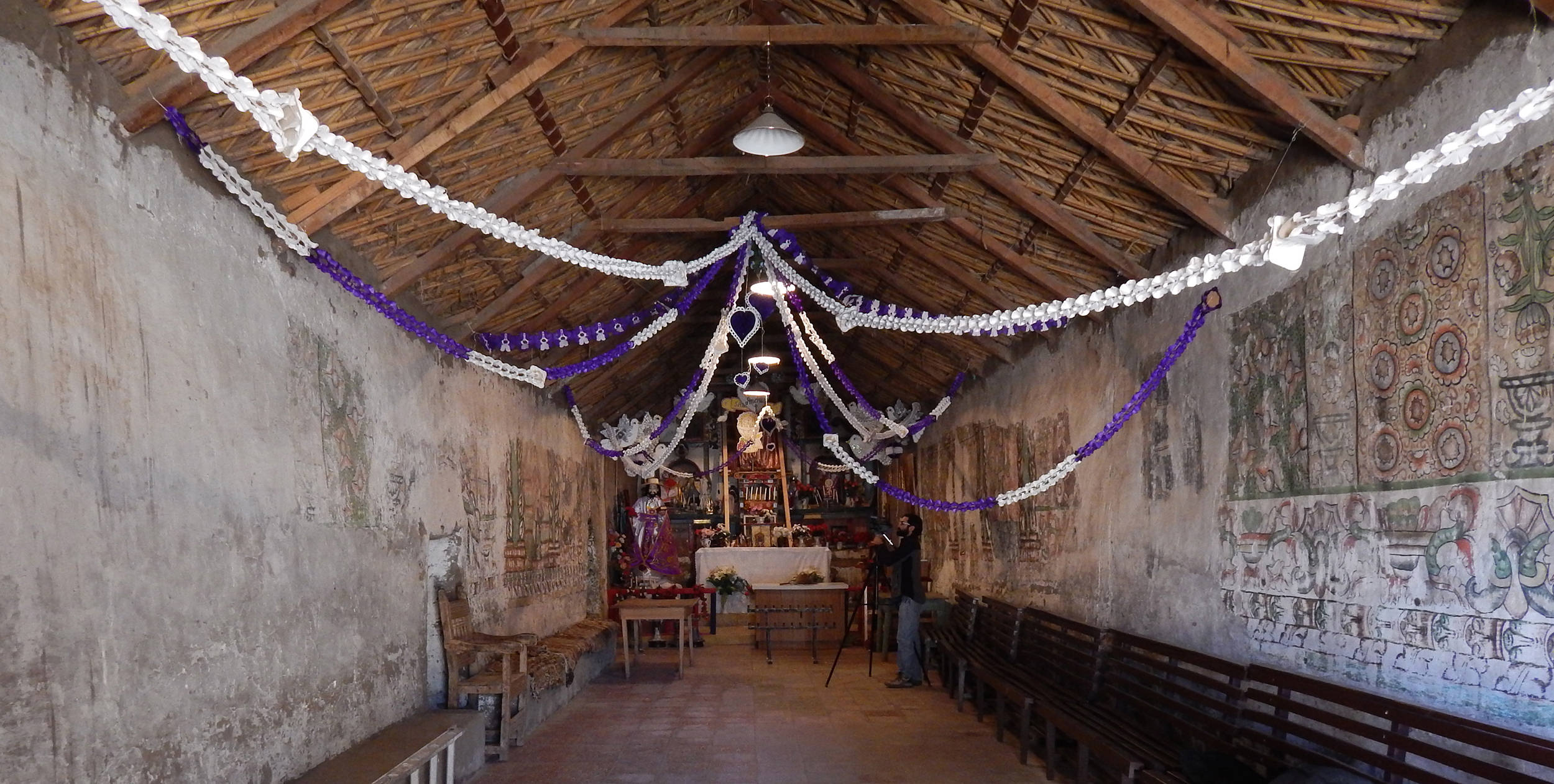 Fig. 21 Interior view, Church of Pachama, 18th century, Arica and Parinacota Region (Chile). Photo by author.