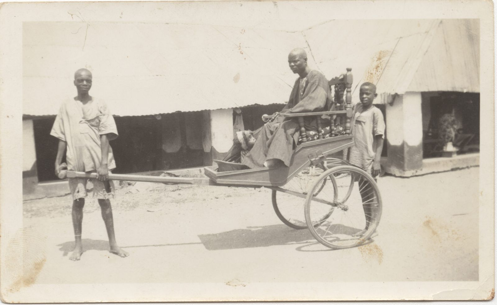 Fig. 2 Ray Northrip, Nigeria Mission photograph