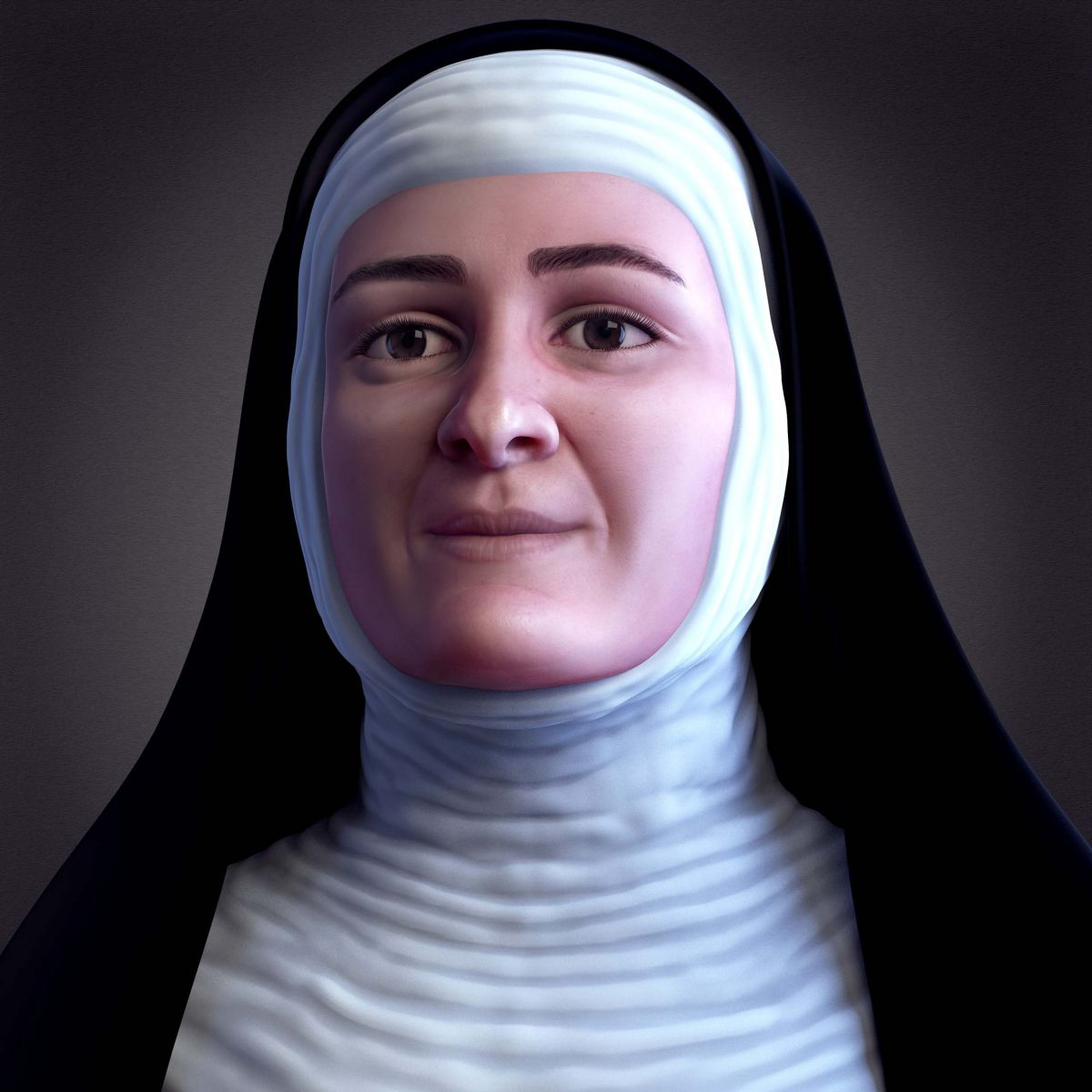 Facial Reconstruction of Blessed Ana de los Ángeles
