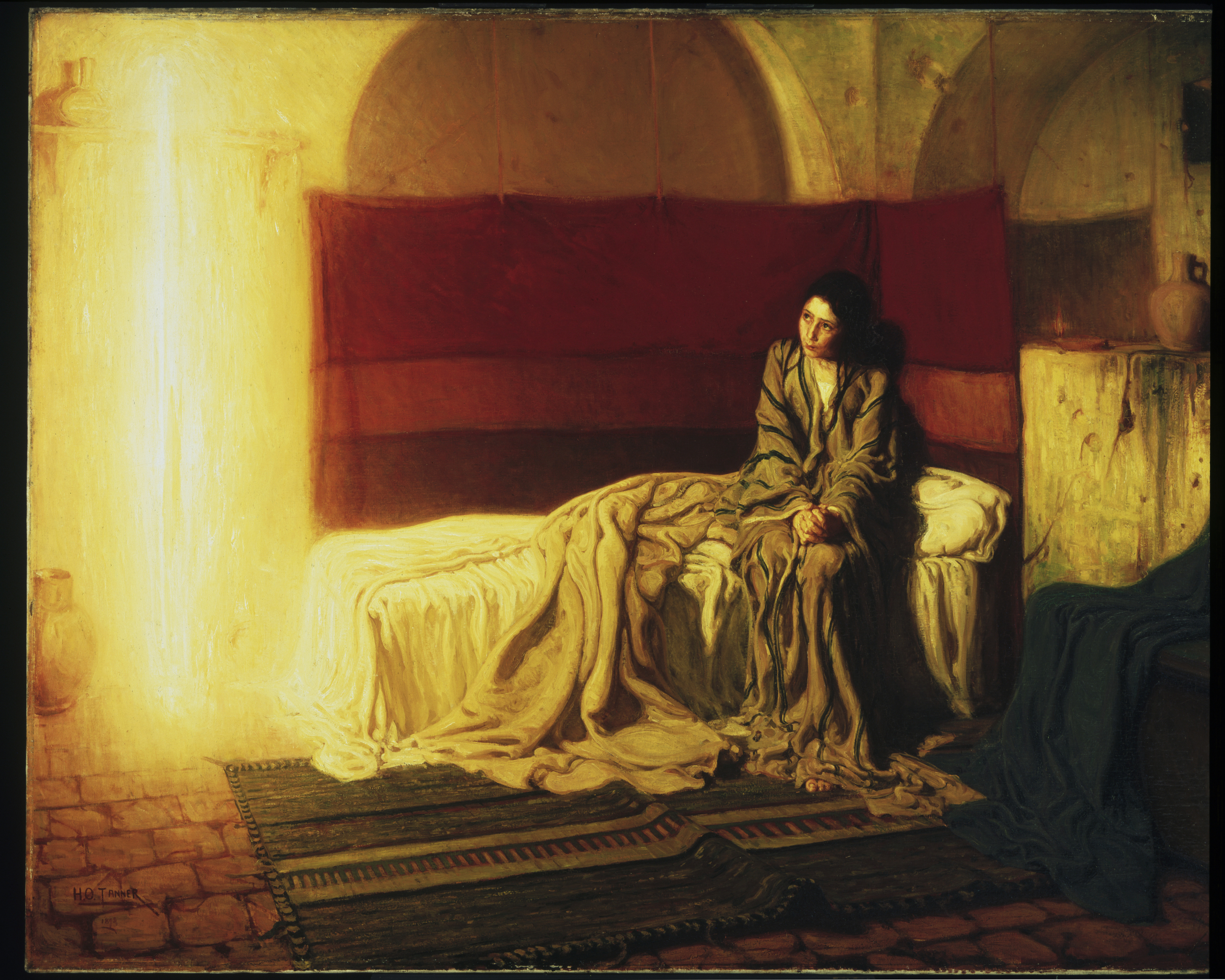 Fig. 3 Henry Ossawa Tanner, The Annunciation, 1898