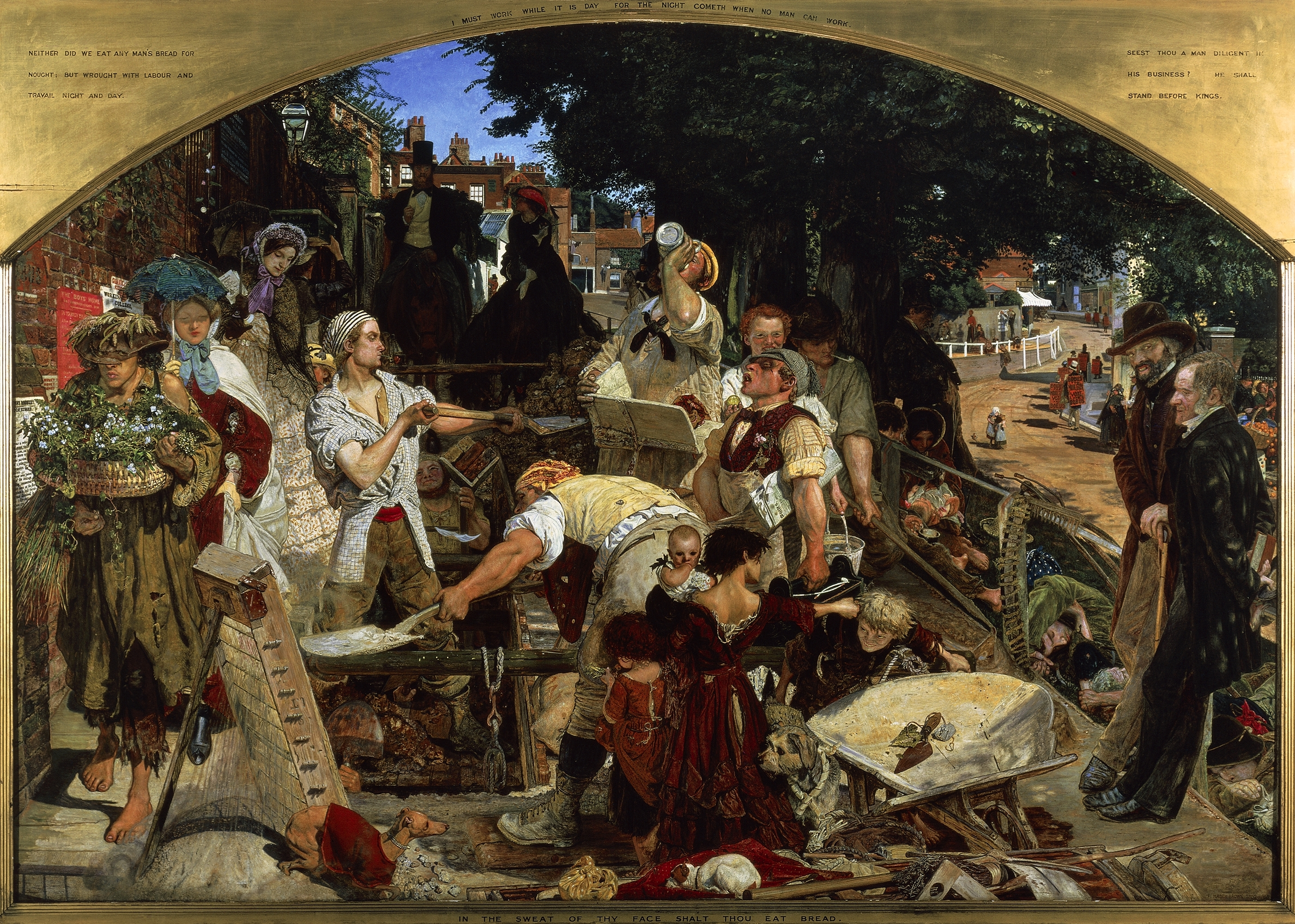 Madox Brown Work Art Small
