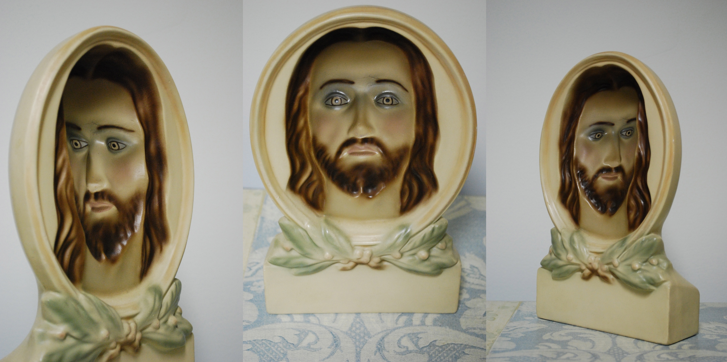 Fig. 14 Face of Jesus, mid 20th century