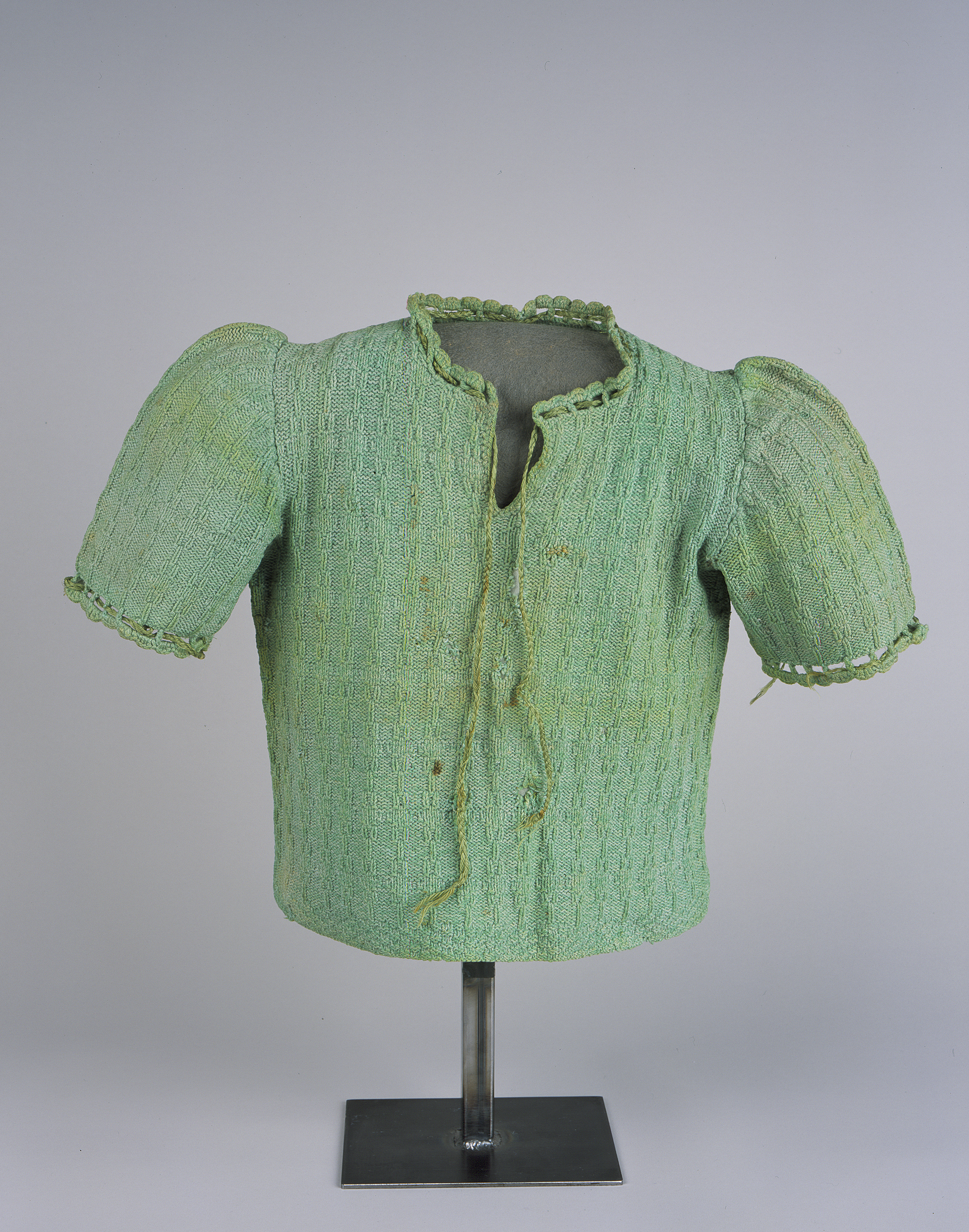 Green Handknit Sweater 14