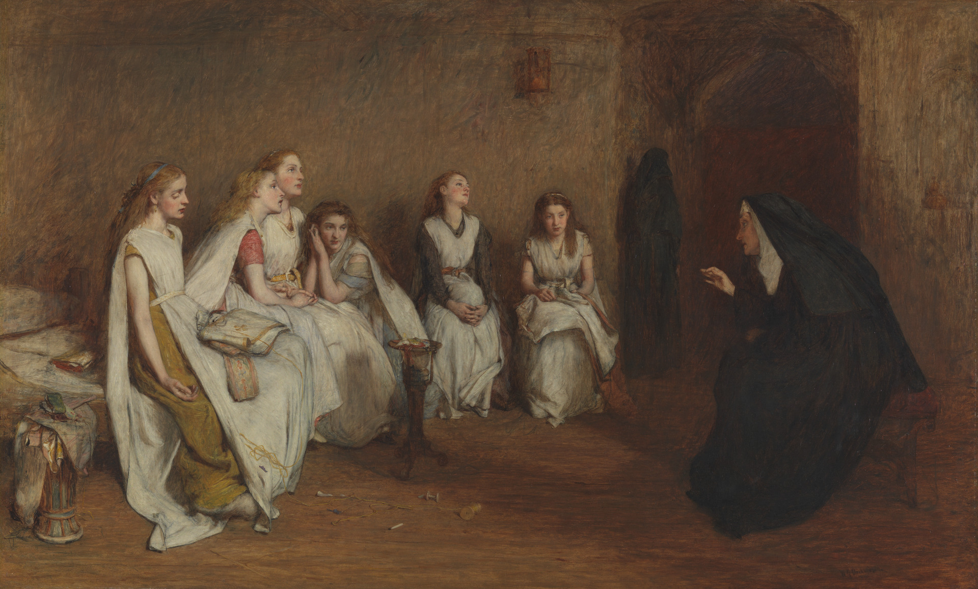 Fig. 1 William Quiller Orchardson, The Story of a Life, oil on canvas, 1866