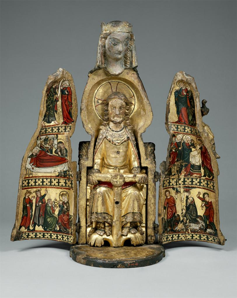 Fig. 1 Vierge Ouvrante, ca. 1300 (opened)