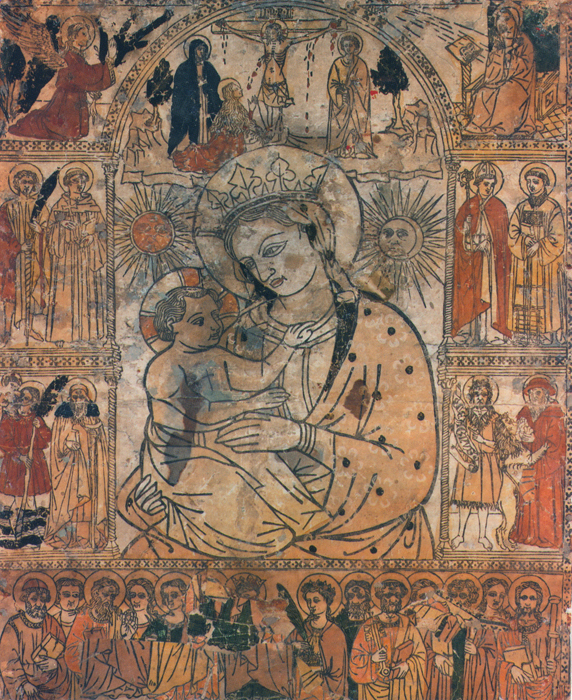 Madonna of the Fire, 15th century