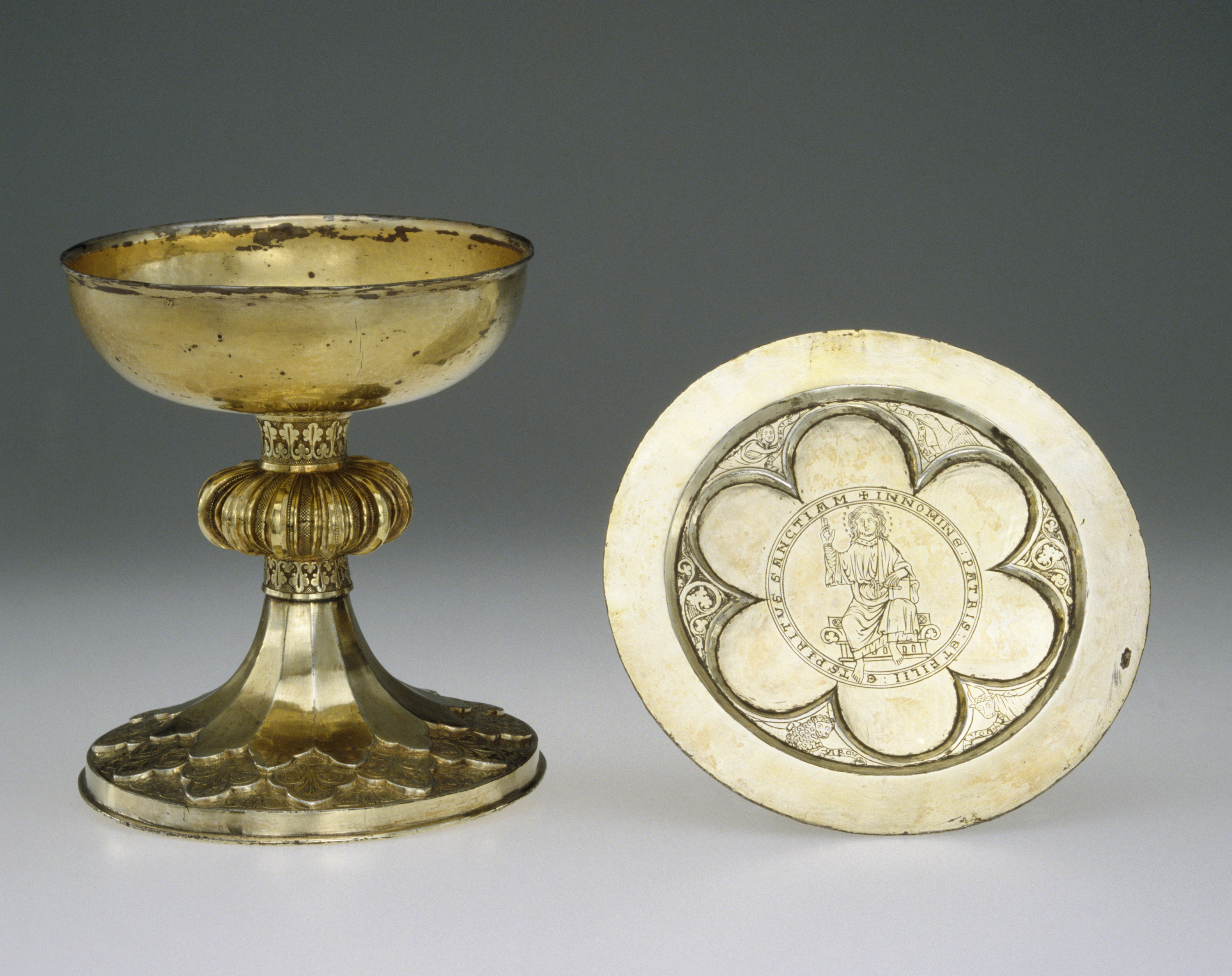 The Dolgellau Chalice and Paten, ca. 1230-1250