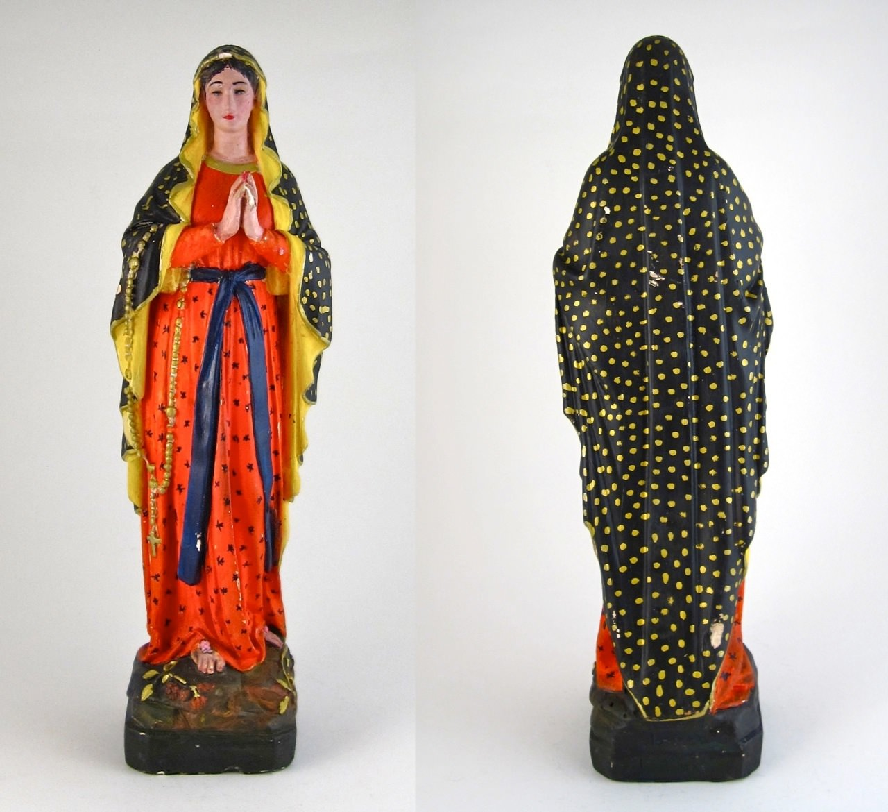 Fig. 11 Our Lady of Lourdes as the Virgin of Guadalupe, 1920s-1930s