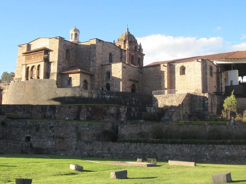 Fig. 3 The monastery of Santo Domingo, built over the Q'oricancha