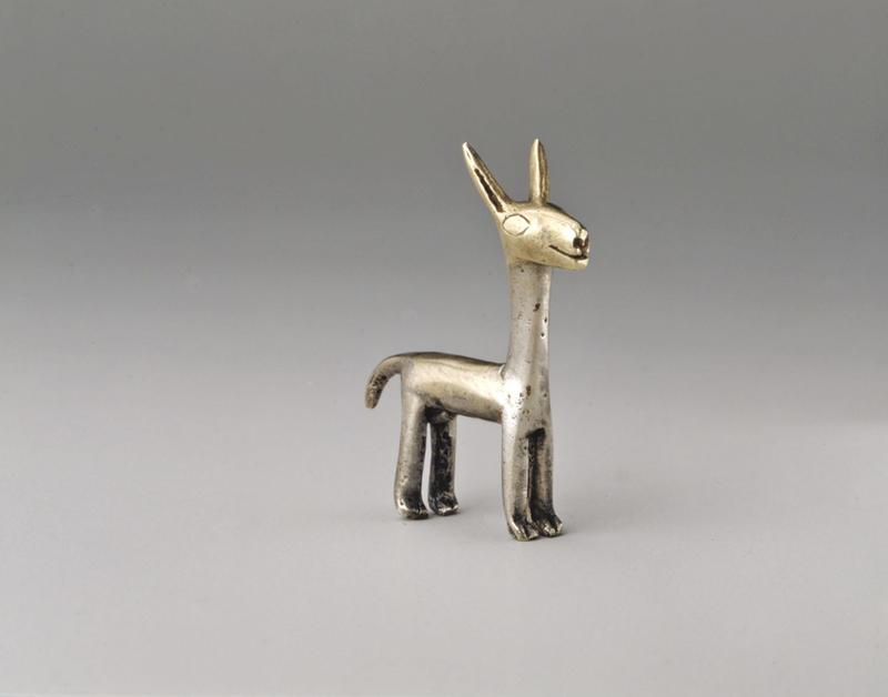 Fig. 8 Inca Llama Figurine, Silver, 15th–early 16th century, Metropolitan Museum of Art 1974.271.36